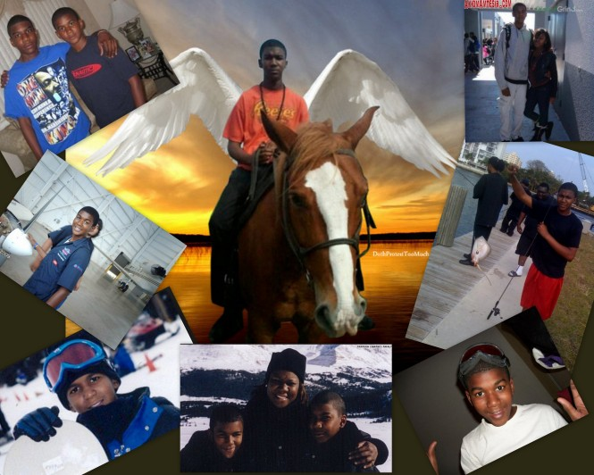 Trayvon Collage
