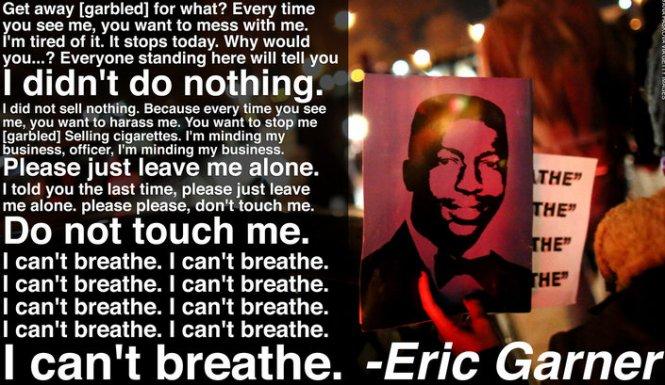 Eric Garner Poster