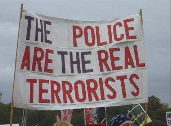 Police Terrorists