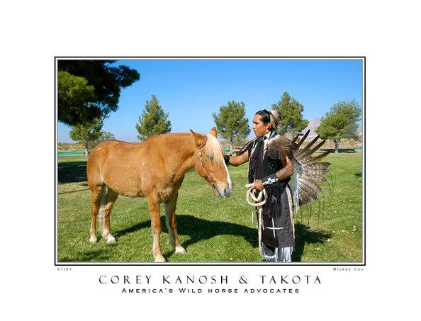 Corey Kanosh Horse